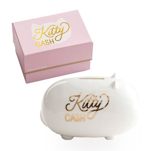 Rosanna Kitty Cash Piggy Bank -Cute  Stylish Money Box Gift